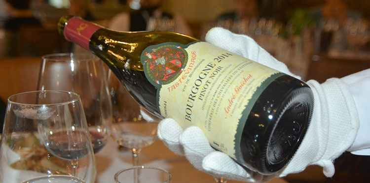 Бургундское вино как подавать