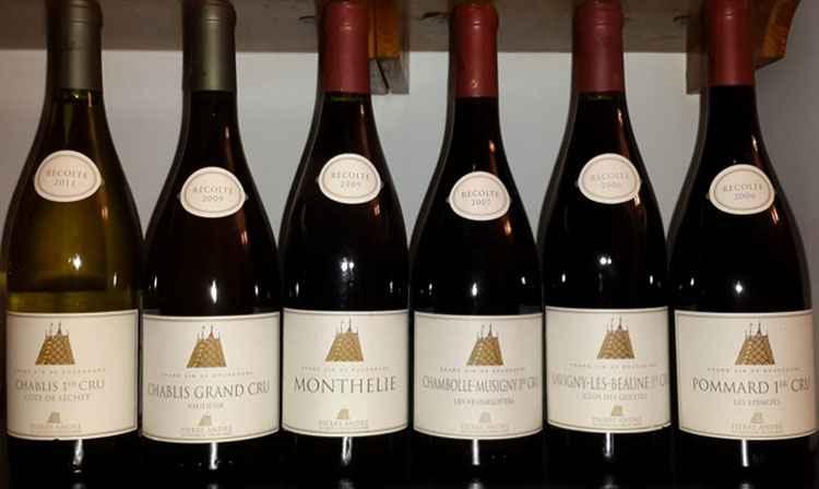 Бургундское вино виды