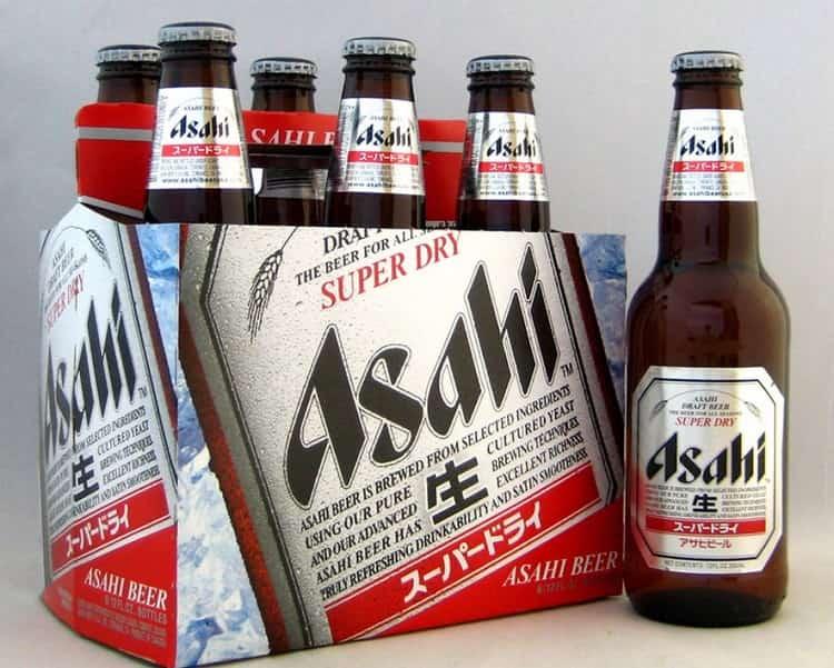 А вот еще одна марка популярного пива из Японии.