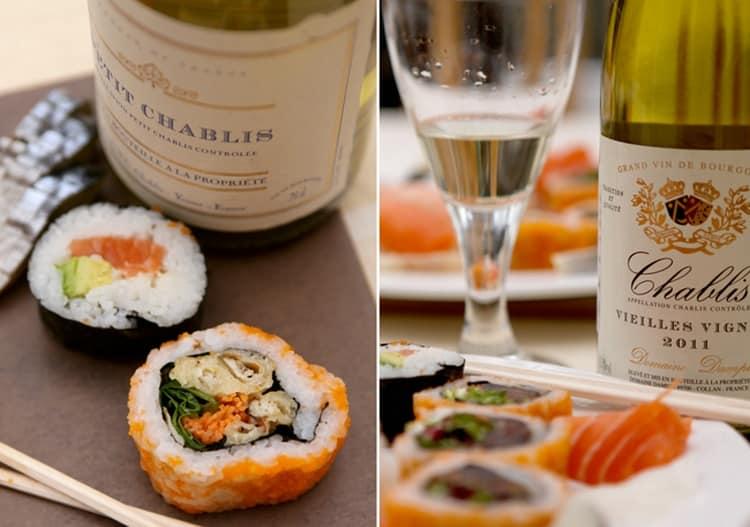 Решать, какое вино лучше к суши, вам, но в идеале это белое сухое.