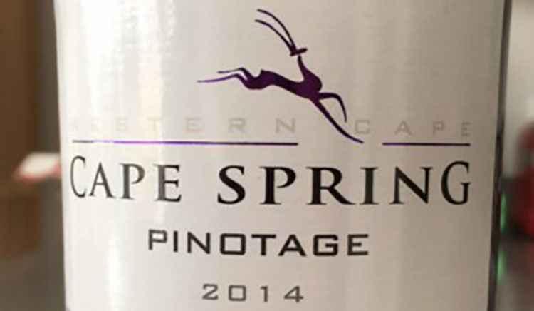 Вино Пинотаж вид Cape Spring Pinotage Western Cape