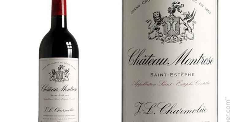 Вид вина Chateau Montrose St-Estephe AOC 2-me Grand Cru Classe