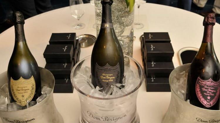 Как подавать шампанское dom perignon