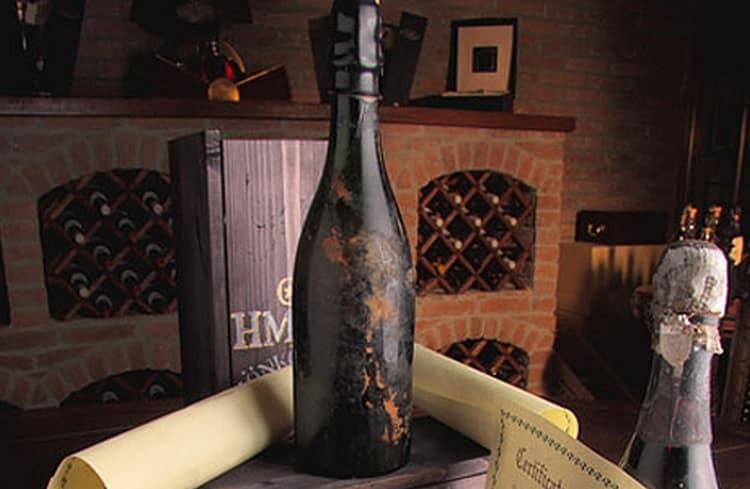 А этот напиток был сделан специально для Николая II.