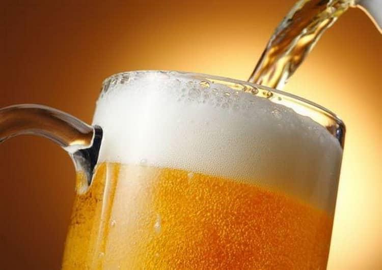 Как подают гамбринус пиво