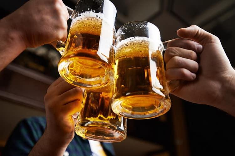 Как подавать гамбринус пиво