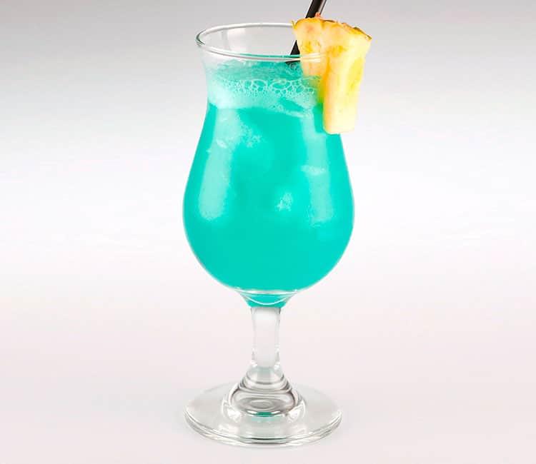 Коктейль голубые гавайи: состав