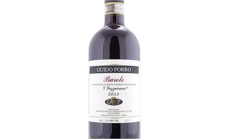 Guido Porro Barolo Vigna Lazzairasco DOCG