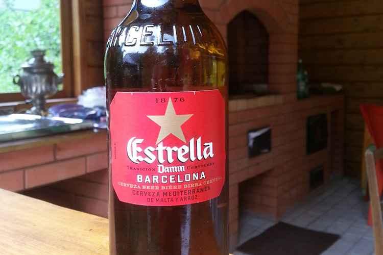 Безалкогольное пиво эстрелла