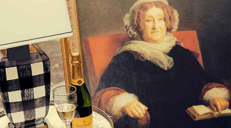 История Шампанское Вдова Клико