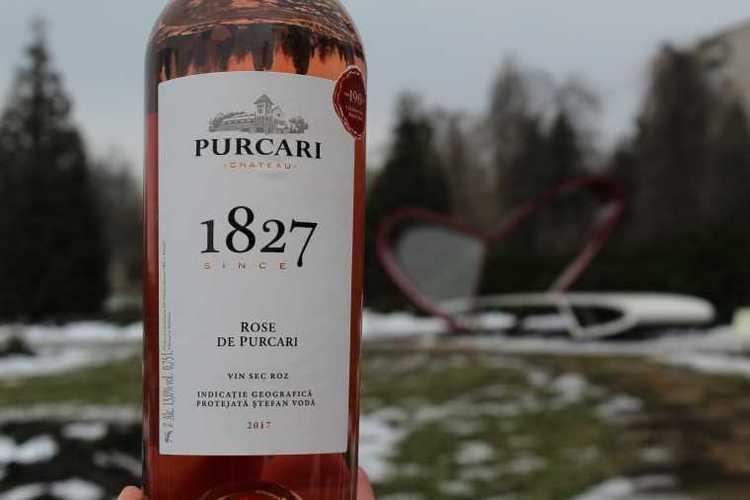 А вот розовое вино из этого сорта винограда.