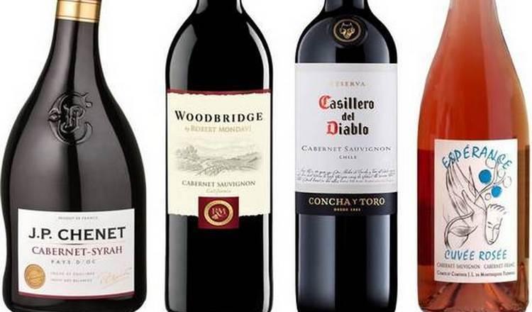 Чтобы правильно выбрать красное полусухое вино каберне совиньон, важно обращать внимание на качество оформления бутылки.