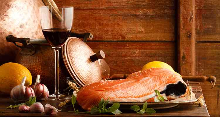 Какое лучше выбрать вино для закуски из рыбы
