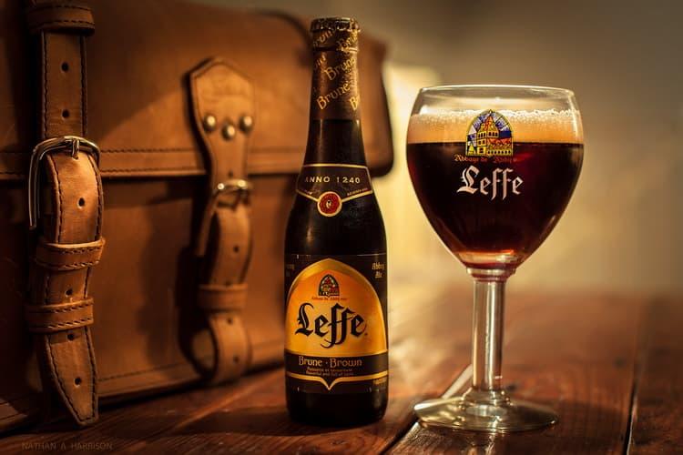 leffe blonde пиво как его подавать