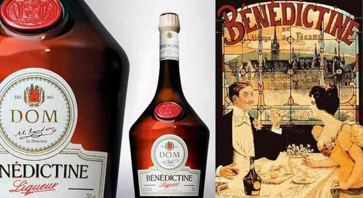 Ликер Бенедиктин история напитка