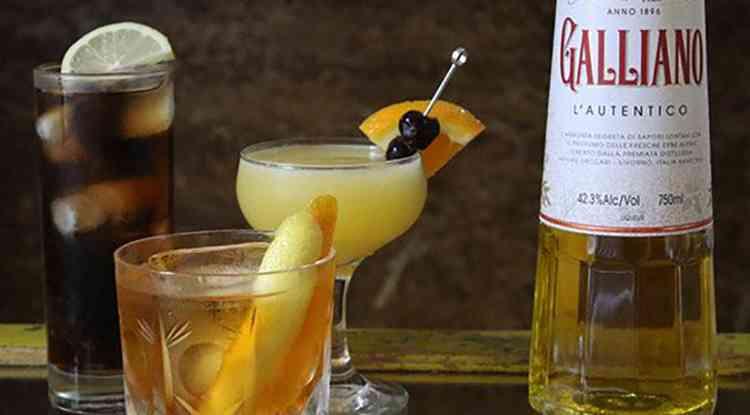 Ликер Гальяно как подавать напиток
