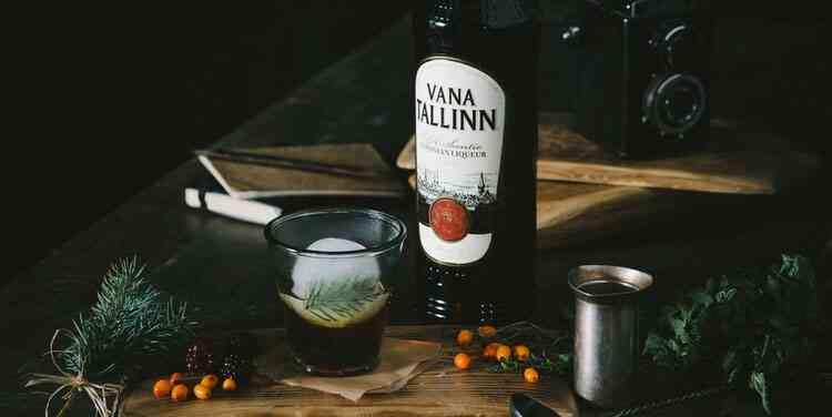 Ликер Vana Tallinn история