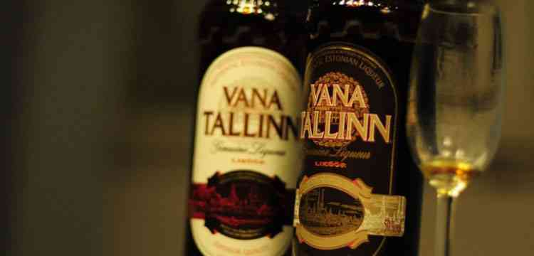 Ликер Vana Tallinn к вашему столу