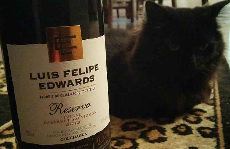 Вино Шираз вид Luis Felipe Edwards Reserva Shiraz