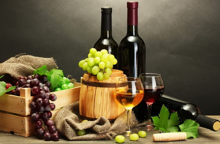 вина классификация по сырью