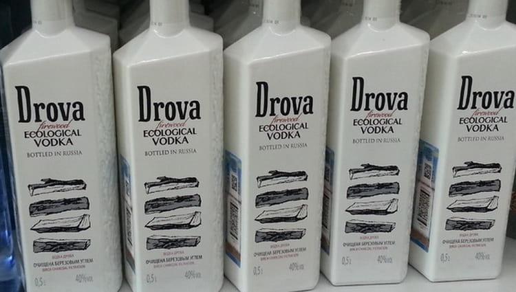 Как выбрать оригинальную водку Дрова