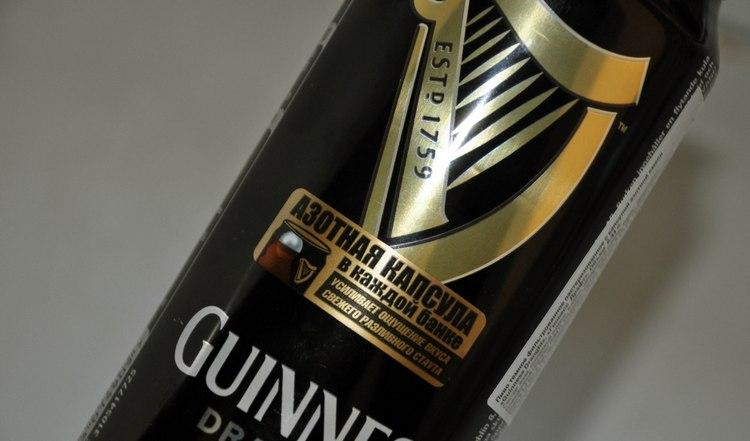 Наиболее популярным является пиво Гиннесс с азотной капсулой.