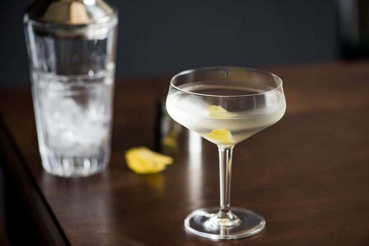 Современный рецепт коктейля веспер