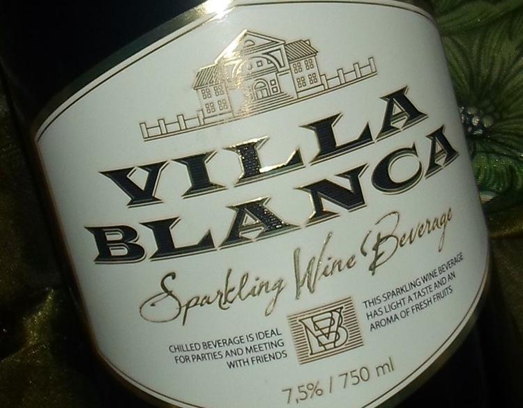 Шампанское Вилла Бланка как купить оригинал