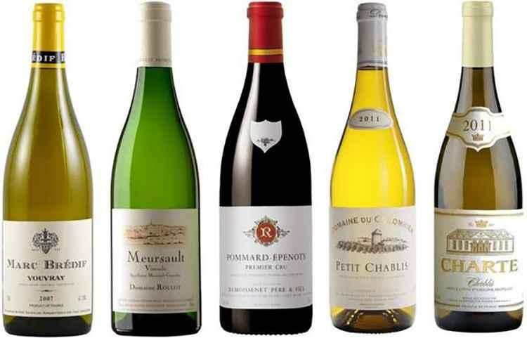 Какие виды белых вин существуют