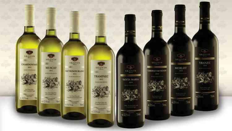 Виды вин македонии