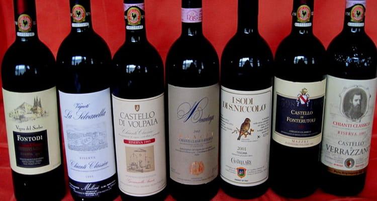 лучшие виды вина тосканы