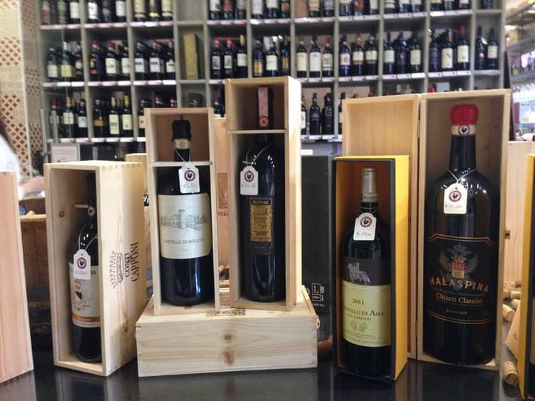 Оригинальное тосканское вина