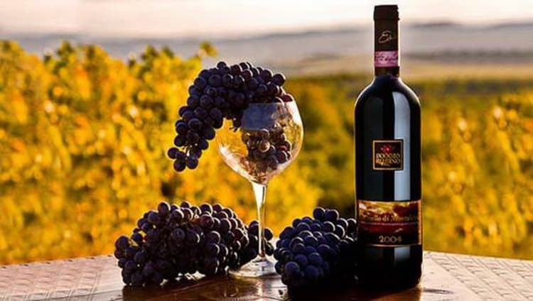 Характеристики вина тоскана