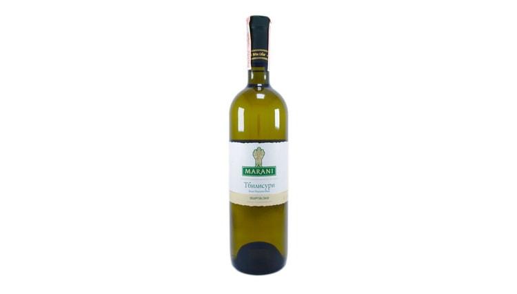 белое полусухое грузинское вино