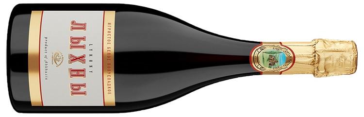А вот вино игристое белое полусладкое Лыхны.