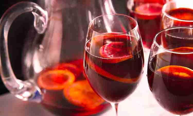 Вино Сангрия эталонность и вкус