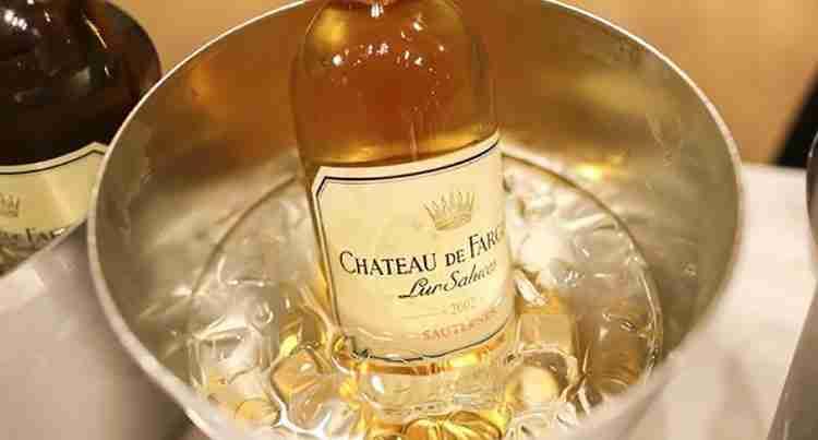 Вино Сотерн прекрасное дополнение к вашему столу