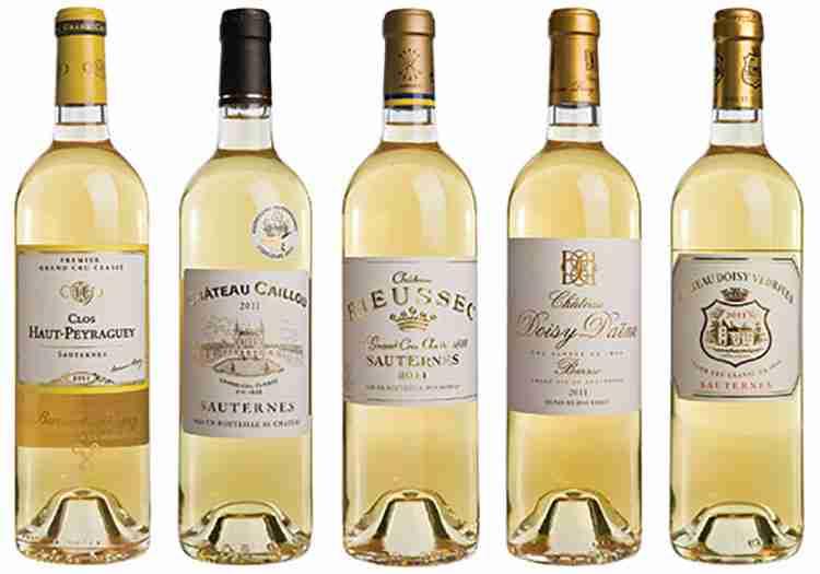 Вино Сотерн виды напитка