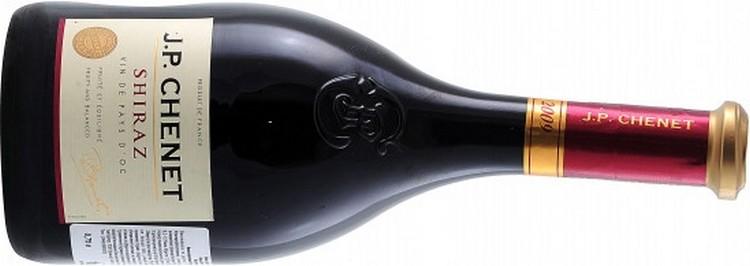 А вот популярное красное сухое вино Жан Поль Шене.