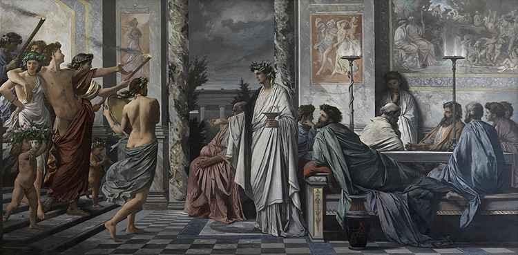 Зарождение вина в древней грации