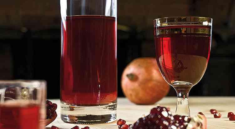 Вкусное вино из граната