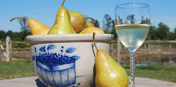 Столовое Вино из груш