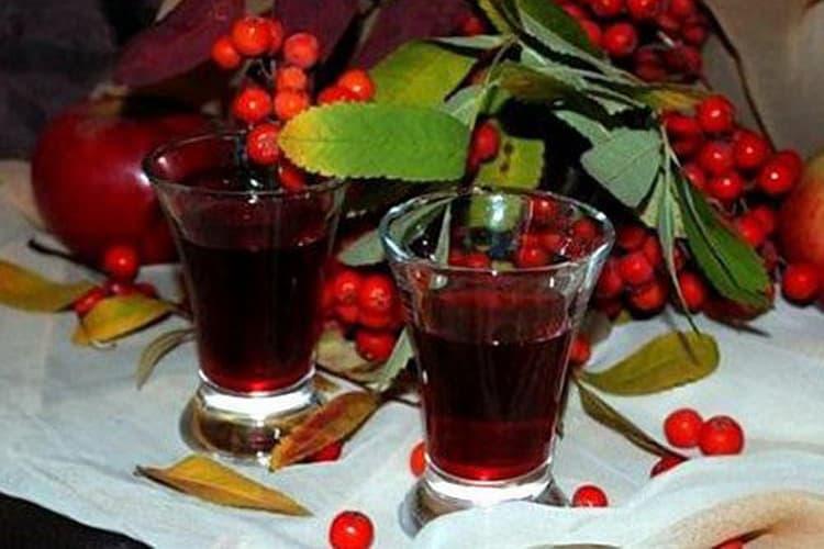 вино из рябины красной в домашних условиях без дрожжей