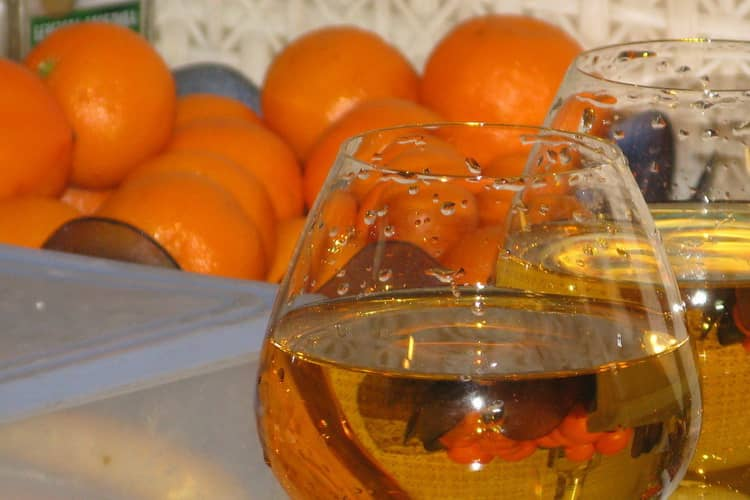 вино из мандаринов в домашних условиях