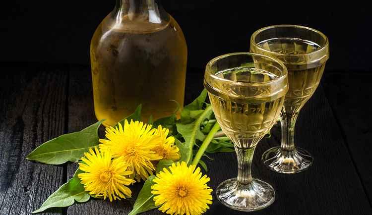 Вино из одуванчиков приготовленное в домашних условиях