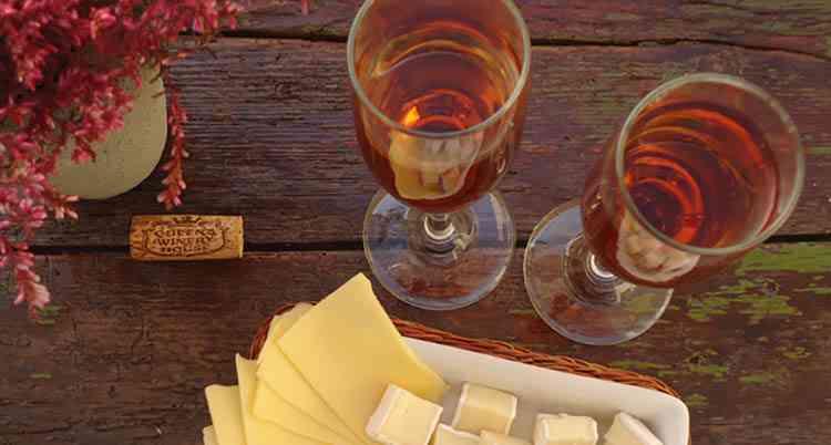 Какое розовое вино к сыру подойдет