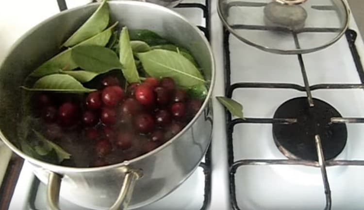 Узнайте также, как приготовить вишневый ликер в домашних условиях с листьями вишни.