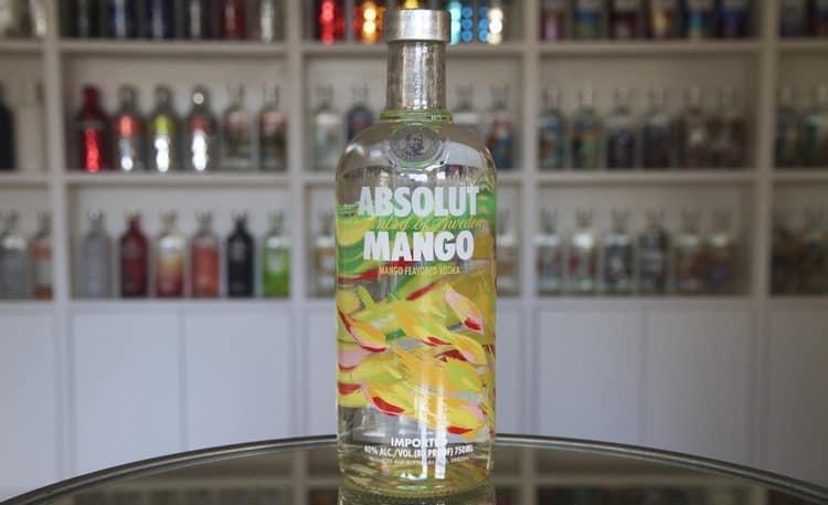 А вот напиток со вкусом и ароматом манго.