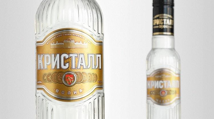 Ассортимент водки от завода Кристалл достаточно широкий.