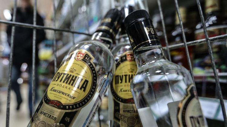 Популярностью пользуется водка Путинка классическая.